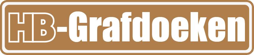 Logo voor tijdelijke grafdoeken van HB-Grafdoeken uit Tilburg. Onderdeel van HB-Creations Tilburg Reeshof.
