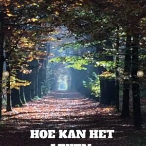 Tijdelijk grafdoek met een bosweg (laantje). HB-grafdoeken onderdeel van HB-Creations uit Tilburg (Reeshof)