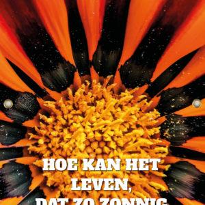 Tijdelijk grafdoek met de bloemhart. HB-grafdoeken onderdeel van HB-Creations uit Tilburg (Reeshof).